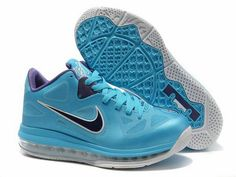 best authentic d2798 ce5f9 Lebron 9 Low Lebron James IX Summit Lake Hornets Turquoise Court Purple  510811 new sample of Lebron 9 Low