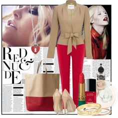 A fashion look from January 2012 featuring Warehouse pants, Miu Miu pumps and CÉLINE tote bags. Browse and shop related looks.