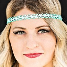 Forge Your Own Trail - Blue - Paparazzi headband