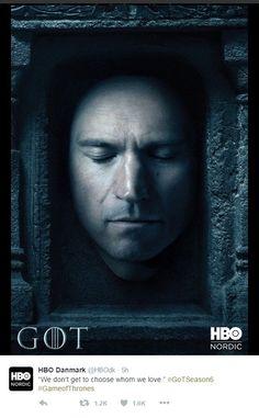 """HBO divulga os pôsteres oficiais da sexta temporada de """"Game of thrones"""" no Twitter (Foto: Reprodução Twitter)"""