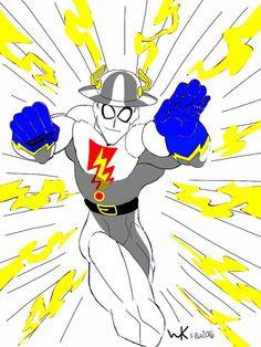 madman(comics)/jay garrick the golden age flash