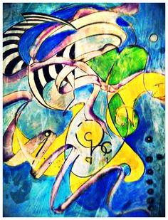 Spinning art print by DMstudios32 on Etsy, $25.00