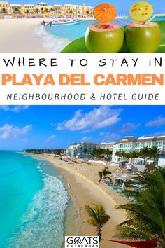 Heading to the Yucatan but not sure where to stay? Check out our guide to where to stay in Playa del Carmen, Mexico! There's tons of options so let us show you the best ones for every budget! | #yucatan #wheretostay #bestofmexico