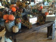It's Fall time at The Faded Farmhouse