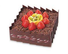 Chocolate Fruit Box.  Saint Honore Cake Shop.