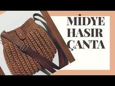 Crochet Bag Tutorials, Macrame Bag, Fall Cards, Handmade Bags, Louis Vuitton Damier, Fashion Backpack, Crochet Top, Pouch, Knitting