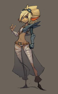 ArtStation - Jaixie (personnal character design), Olivier Désirée