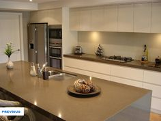 mink ceasarstone Kitchen Renovations and Bathroom Renovations, Northern Beaches and North Shore. CTI Kitchens Sydney.