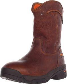 Timberland PRO Men's Helix Wellington Waterproof Work Boot Timberland. $134.99. leather. Rubber sole. Anti fatigue technology. 30 day comfort guarantee