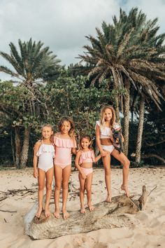 CLICK TO SHOP! Say hello to our Minis Collection! Full of girly ruffles, cute pink polka dots, sporty one pieces and fun two pieces. Starting in 2T, these suits can be worn by all your little ones! Click through to see more kids suits or head to albionfit.com #swimwear #swimsuit #swim #summer #kids #friends #bestfriends #bffs #fun