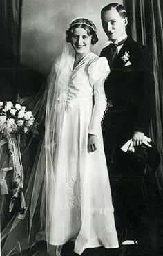 Dsida Jenő és Imbery Melinda esküvői fotója
