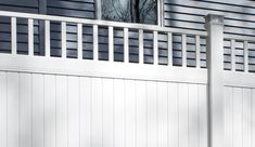 If you're looking for something as high quality as New Lexington vinyl fence from Bufftech, but would like to add extra class with a Victorian accent, your fence has arrived. Introducing New Lexington with a Victorian accent at an unbeatable price. Vinyl Privacy Fence, Privacy Fences, Vinyl Fencing, Fence Sections, Fence Styles, Cedar Fence, Good Neighbor, New Homeowner, Home Projects