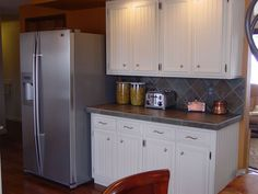 I remodeled my 1970's kitchen myself. I refaced the cabinets with wai… :: Hometalk