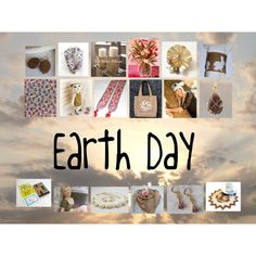 Earth Day: Vintage & Handmade Gifts by paulinemcewen on Polyvore featuring interior, interiors, interior design, home, home decor, interior decorating, Chanel, rustic and vintage