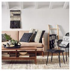 Paramus Mid Century Sofa - Oatmeal Heather - Threshold : Target | Scandinavian Design Interior Living | #scandinavian #interior