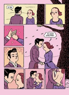 Classwork - New Romantics / Split comic book on Behance