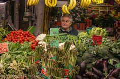 Visiting Genoa and the market - Mercato Orientale