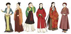Việt phục vẽ bởi Glimja, một họa sĩ Hàn Quốc #costume