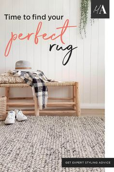 A rug is the perfect finishing touch to your room! Coastal Living Rooms, Rugs In Living Room, Interior Design Living Room, Living Room Decor, Bedroom Decor, Paint Colors For Living Room, Room Accessories, Room Rugs, Resolutions