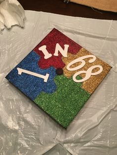 Graduation cap! 1 in 68 children are diagnosed with autism. #graduation #autism #awareness #love #psychology