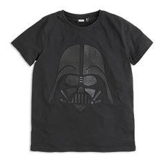 T-paita, jossa painatus Musta