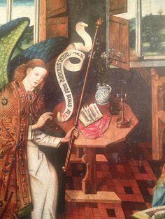 Meister des Schöppinger Altars Verkündigung an Maria 1453-57 St. Brictius Schöppingen