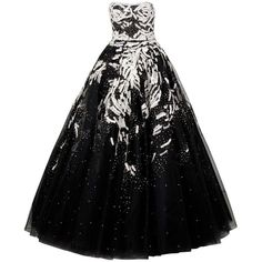 MARCHESA Tulle and Sequin Gown (337.225 RUB) ❤ liked on Polyvore featuring dresses, gowns, vestidos, long dresses, women, strapless evening dresses, tulle dress, sequin evening gowns and marchesa gowns