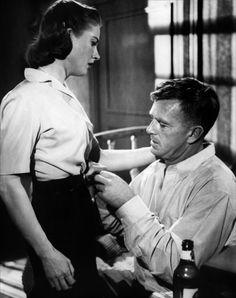 "Sterling Hayden and Coleen Gray in ""The Killing"" (1956). DIRECTOR: Stanley Kubrick."