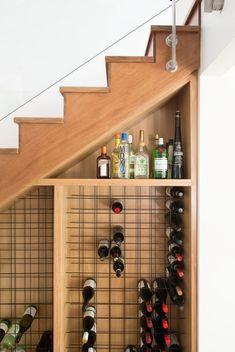 Under stairs wine storage stair rack staircase the cellar ideas shop buy unde