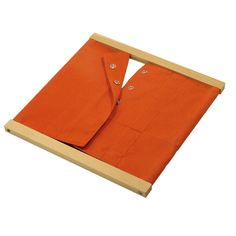 Beechwood Bow Dressing Frame NEW Montessori Practical Life Material