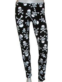 Skull and Crossbones leggings