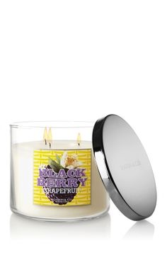Blackberry Grapefruit - Fresh from the orchard, a luscious blend of sun-ripened blackberries and juicy grapefruit with a touch of creamy sandalwood.