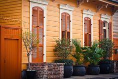 NOLA: French Quarter: Orange House