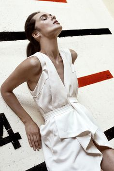 Robert Kalinkin Contemporary Fashion, Something Beautiful, Women Wear, White Dress, Clothes, Dresses, Design, Style, Outfits