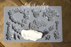 How to Make Your Own Furniture Mouldings   Edith & Evelyn Diy Furniture Appliques, Handmade Furniture, Shabby Chic Furniture, Furniture Fix, Furniture Projects, Redoing Furniture, Painting Furniture, Diy Projects, Outdoor Furniture