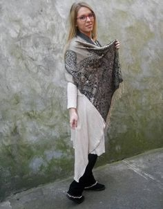 Items similar to Light blue and beige cover-up on Etsy Cozy Corner, Cover Up, Beige, Dresses, Fashion, Taupe, Vestidos, Moda, Fasion