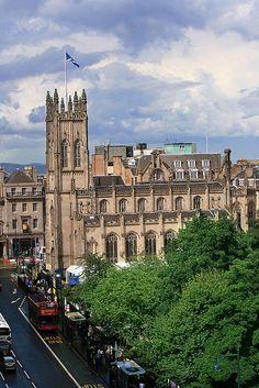 St Johns Church, Edinburgh, Scotland
