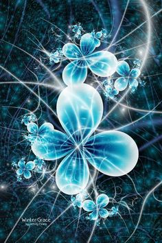 Fractal Geometry. #fractal #bluefractal