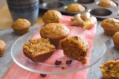 Cranberry-Ginger Pumpkin Muffins These are fabulously moist and delicious muffins to please any muffin lover. They're great as a treat or a breakfast side. Very popular with the kiddos too. Double up the recipe and make extra for loved ones. You'll be sure to make them smile on a chilly autumn day.