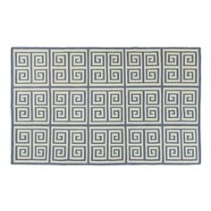 """Handwoven in India, our reversible rug will enrich any room with pure luxury. Fine wool feels great under your feet and its eye-catching pattern adds a """"wow"""" factor to your home."""