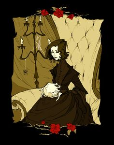 To love the dead: A Rose for Emily by AbigailLarson on deviantART