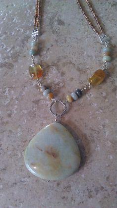 amazonite pendant necklace 1