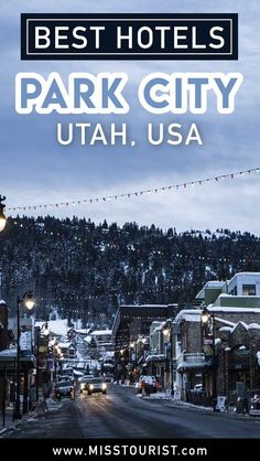 Park City Lodging - Best Hotels for Skiing Park City Utah Hotels, Park City Utah Summer, Park City Lodging, Scenic Photography, Night Photography, Landscape Photography, South America Travel, North America, Salt Lake City Utah
