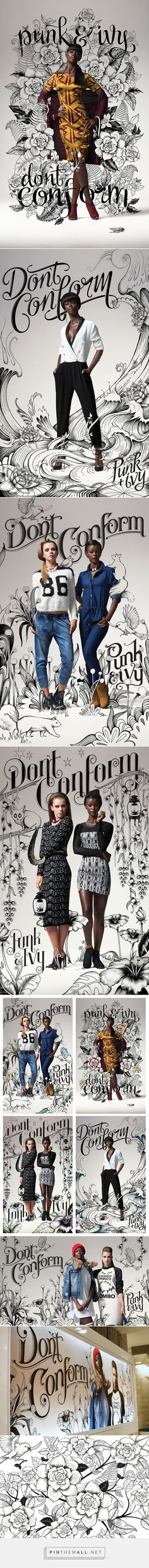 advertising set | LEGiT Don't Conform Campaign on SCAD Portfolios - Dani Loureiro