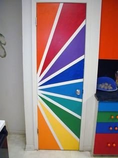 gotta be a way I can do something like this to my bedroom door