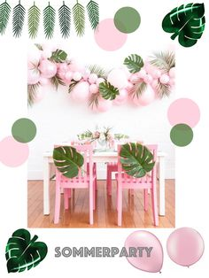 Sommerparty Inspiration