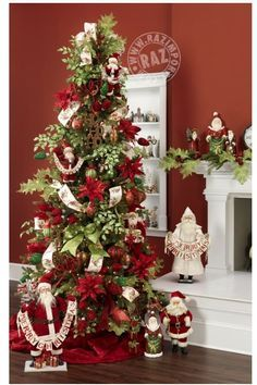 Cristhmas Tree Decorations Ideas : 2013 Christmas Tree See more ideas like this at West Tremont Holiday Market in # Elegant Christmas Trees, Christmas Tree Themes, Noel Christmas, Holiday Tree, All Things Christmas, Christmas Tree Decorations, Holiday Decor, Family Holiday, Xmas Tree