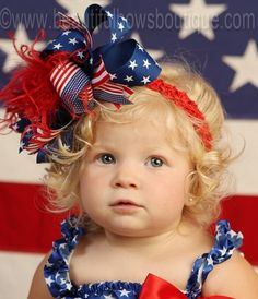 United States Flag Over the Top Hair Bow 6 inches-Flag Baby of July Bows,OTT Bows Patriotic,Girls Big Bows,Hair Bow Clips Big Hair Bows, Toddler Hair Bows, Toddler Headbands, Bow Hair Clips, Big Bows, Toddler Girl, Boutique Hair Bows, Girls Boutique, Baby Ruffle Romper