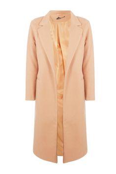 Tailored Coat | boohoo Boyfriend Coat, Duster Coat, Fur Coat, Tailored Coat, Plastic Raincoat, Long Wool Coat, Padded Jacket, Fashion Face Mask, Coats For Women