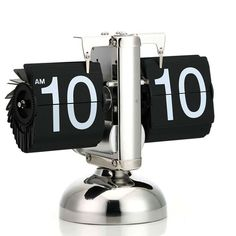 #Flip Desktop #Clock For Art Home and Office This clock will catch the eyes of any visitor to your home or office.